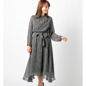 【ミューズ リファインド クローズ/MEW'S REFINED CLOTHES】 小花柄長袖ワンピース