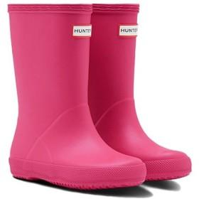 ハンター(HUNTER) オリジナル キッズファースト クラシック ブーツ ブライトピンク KFT5003RMA 子供用 長靴 雨具 男児 女児