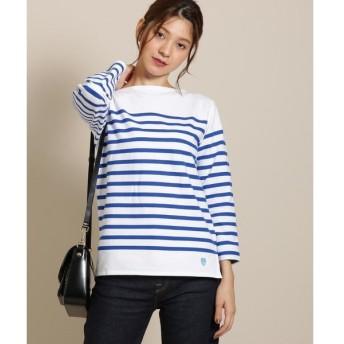 anatelier / アナトリエ ORCIVAL ボーダーロングTシャツ