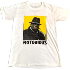 ノトーリアス・B.I.G. The Notorious B.I.G. プリントTシャツ ROCK ロックTシャツ バンドTシャツ hiphop Rap (L) [並行輸入品]