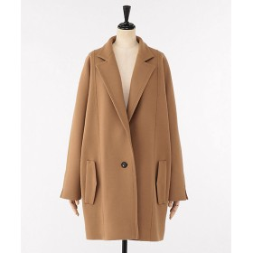 <ELIN> Melton single 1B coat Walnut【三越・伊勢丹/公式】