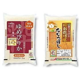 JA新すながわ産 特栽米ゆめぴりか、特栽米ななつぼし定期便(12ヶ月)【新米】