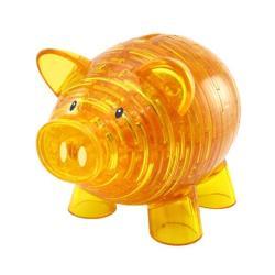 《3D 立體水晶拼圖》幸福小金豬