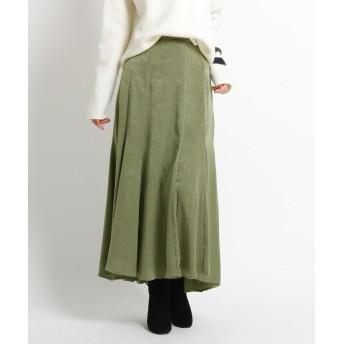 Dessin(Ladies)(デッサン(レディース)) マロンサテンマキシスカート