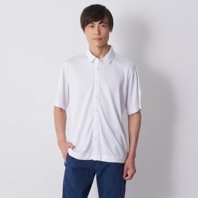 MIZUNO SHOP [ミズノ公式オンラインショップ] 半袖シャツ[メンズ] 01 ホワイト B2JC8004