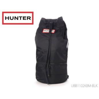 ハンター HUNTER オリジナル ナイロン ダッフル リュックサック 国内正規品  メンズ レディース バッグ かばん STRATUS UBB1102KBM-BLK