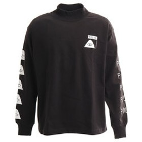 【Super Sports XEBIO & mall店:トップス】90S SMT CLS モックネック長袖シャツ 18AW-POLER-007DBLK
