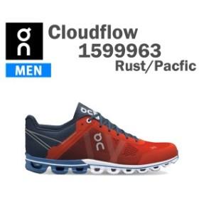 ON オン ランニングシューズ メンズ Cloudflow 1599963 M カラーRust/Pacific 正規品