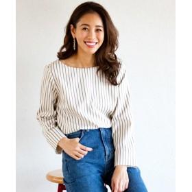 シャツ - OPAQUE. CLIP 【洗濯機洗いOK・42(LL)WEB限定サイズ】バックスクエアボタンシャツ