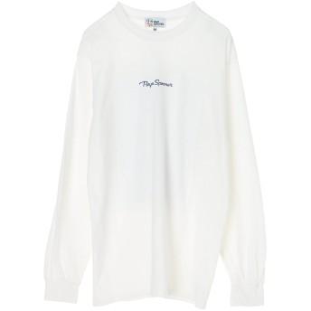 AS STANDARD AS STANDARDxREYN SPOONER L/S TEE アズスタンダードxレインスプーナー Tシャツ Tシャツ・カットソー,WHITE