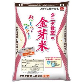 Qoo10カートクーポン使用可能!東洋ライス タニタ食堂の金芽米 無洗米 2700ml×1個 米 ヘルシー