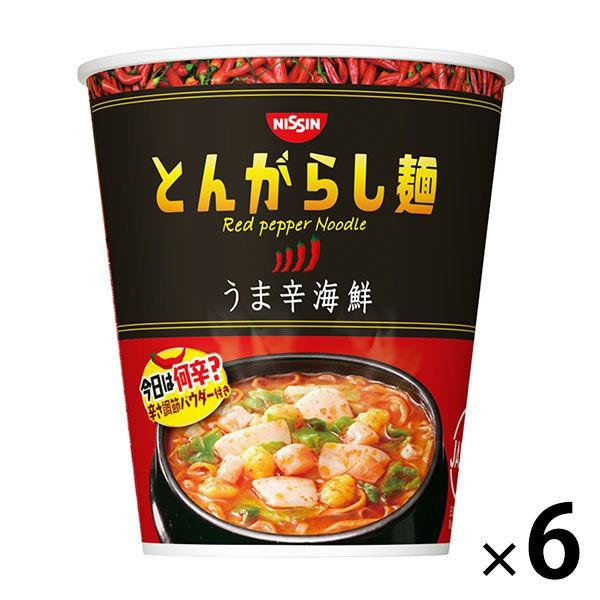 日清NISSIN 香辣海鮮拉麵 6入裝 12入裝 J664973