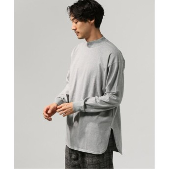 JOURNAL STANDARD テンジク WIDE モック ロングスリーブ T グレー L