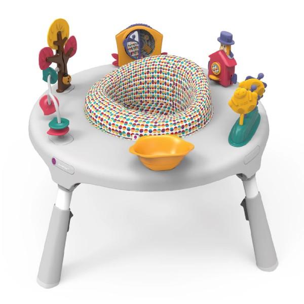 新加坡ORIBEL 成長型遊戲中心/遊戲桌(不含椅凳) 白色【麗兒采家】【預購-預計5月底陸續出貨】