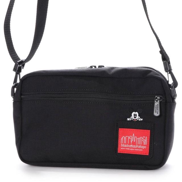 マンハッタンポーテージ Manhattan Portage Mickey Mouse Collection Jogger Bag (Black)