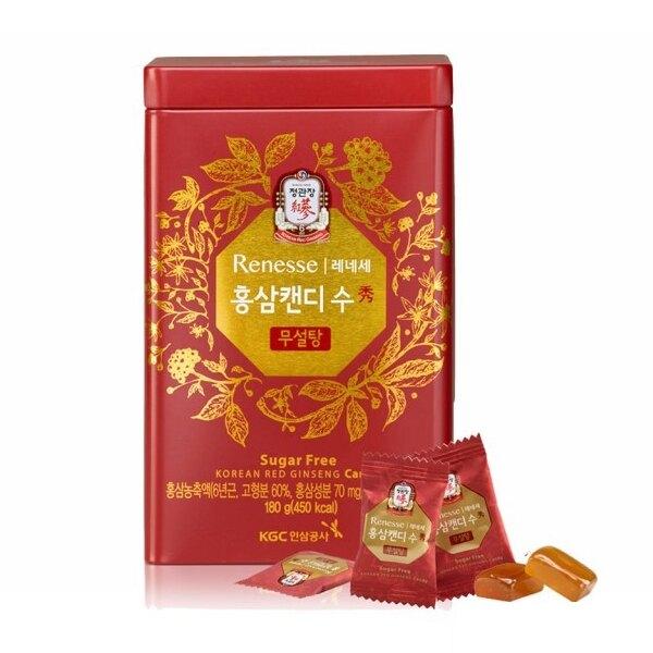 正官庄 高麗蔘糖-無糖(180g/盒)x1