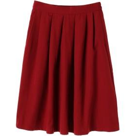【6,000円(税込)以上のお買物で全国送料無料。】・タックミディスカート