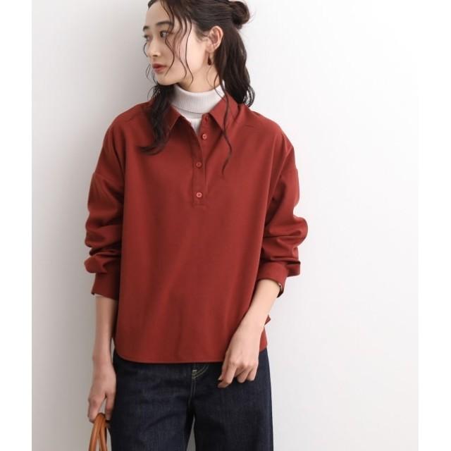 ビス/【前後2WAY】ボタン開きシャツ/レンガ/F