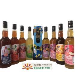 【亞源泉】新品上市 喝好醋系列嚴選水果醋禮盒 8種口味任選6瓶送1瓶