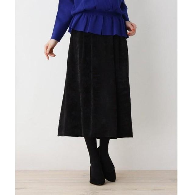 SOUP / スープ 【大きいサイズあり・17号・19号】カラーサテンAラインスカート
