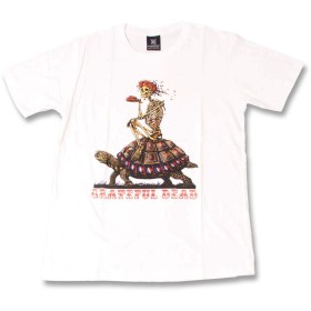 (ファーストライン)FIRST-LINE (KR) グレイトフルデッド THE GRATEFUL DEAD 4 WHT S/S 半袖 Tシャツ メンズ レディース L ホワイト
