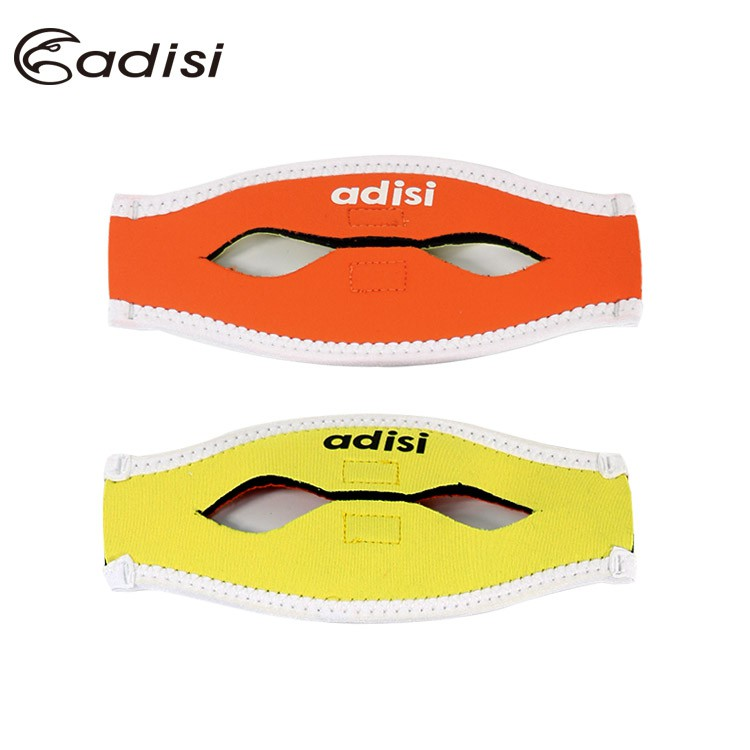 ADISI 面鏡護髮帶 AS17051 橘色/黃色/可雙面使用