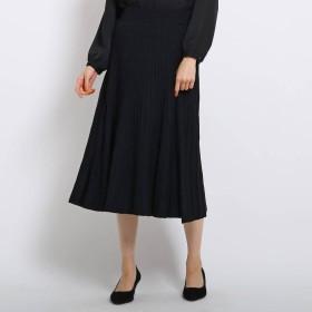 エージー バイ アクアガール AG by aquagirl プリーツニットスカート (ブラック)