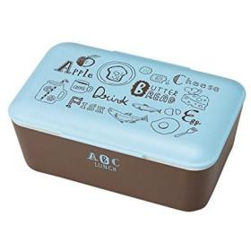 クラフトレシピ ABC メンズ ランチ 1段 BL 900ml 電子レンジ対応 食洗機対応 弁当箱 男子 一段 大容量 女性 おしゃれ かわいい スリム スクエア 女の子 弁当 ランチボックス ランチBOX 収納