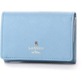 ランバン オン ブルー LANVIN en Bleu リュクサンブールカラー 3つ折り財布 (ブルー)