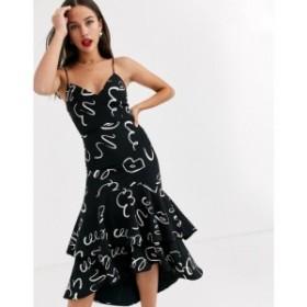 ファビエンヌ シャポット Fabienne Chapot レディース ワンピース ミドル丈 ワンピース・ドレス sarah squiggle midi dress