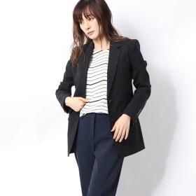 リネーム Rename 袖口デザインテーラードジャケット (ブラック)