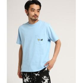 BASE CONTROL(ベースコントロール) マークゴンザレス別注 ポケット エンジェル 半袖 Tシャツ