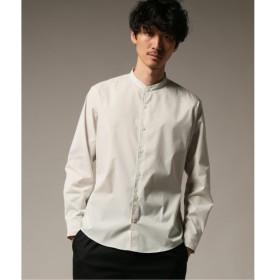 [マルイ] メンズシャツ(TORAY PRIME FLEX ストレッチ ノーカラー シャツ)/417エディフィス(417 EDIFICE)