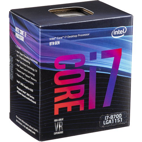 ★腳位:1151 , 時脈速度:3.20-4.60 GHz★快取記憶體:12.0 MB , 核心/執行緒:6/12★內含顯示:Intel® UHD Graphics 630 , TDP:65 W