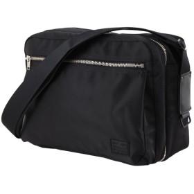 カバンのセレクション 吉田カバン ポーター リフト ショルダーバッグ メンズ レディース ブランド B5 PORTER 822 07566 ユニセックス ブラック フリー 【Bag & Luggage SELECTION】