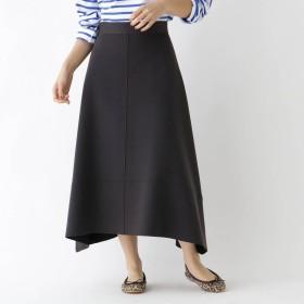 ドレステリア DRESSTERIOR ユーティリティウールAラインスカート (ディープグレー)