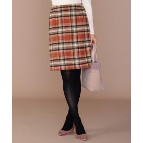 【オンワード】 any SiS(エニィスィス) コンパクトチェック スカート カッパーブラウン 3 レディース 【送料無料】