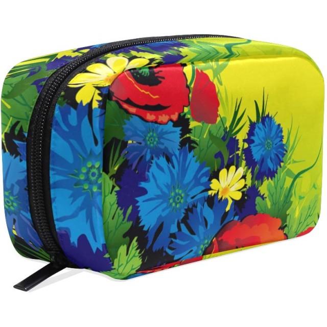 化粧ポーチ 仕切り メイクポーチ メイクボックス レディース 女の子 化粧バッグ 化粧ボックス ポーチ コスメバッグ 小物ケース おしゃれ 学生 かわいい カラー 花柄