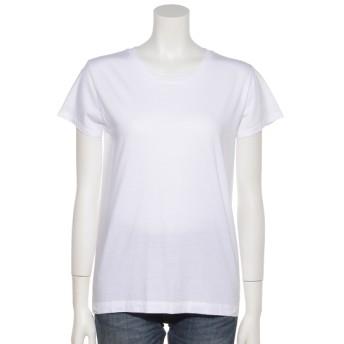 10%OFF PRATH (プラス) HANESレディース半袖Tシャツ ホワイト