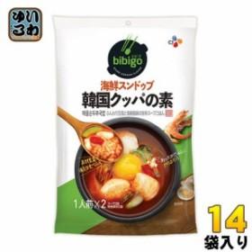 CJジャパン bibigo(ビビゴ) 韓国クッパの素 海鮮スンドゥブ 14袋入