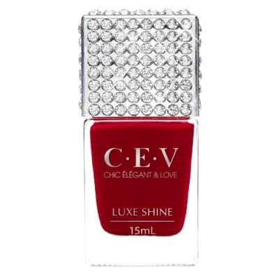 CEV LUXE SHINE 超凝光感指甲油 5901 紅寶石