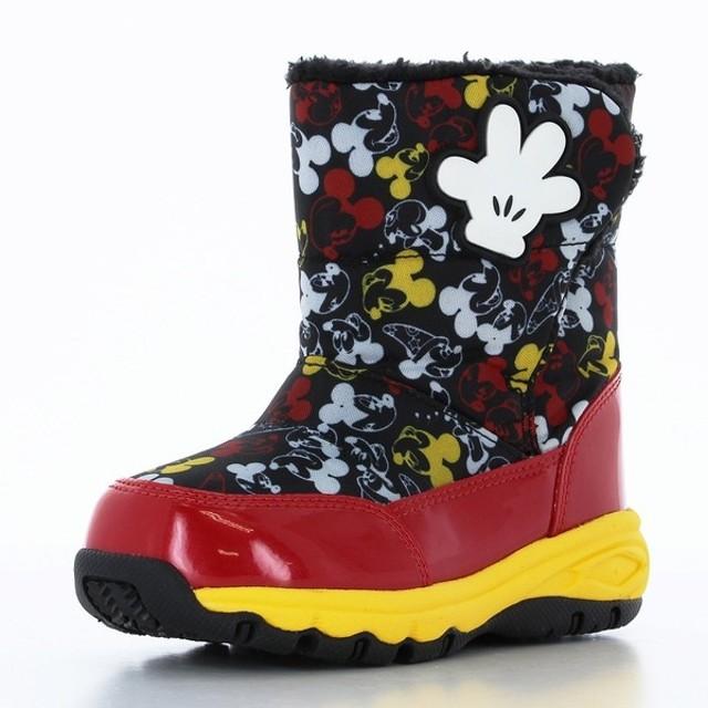 【SALE】 [15.0~18.0cm]ダウンブーツディズニー ブラック シューズ・ファッション小物 ブーツ (39)