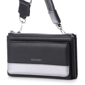 MOUSSY マウジー SHINY SHOULDER WALLET M01-2-00052