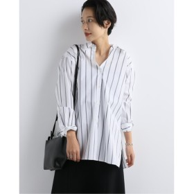 JOURNAL STANDARD コットンクロスドレスシャツ ホワイト B フリー
