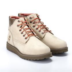 Timberland男款中駝色磨砂革UWB防水靴A28CQ257