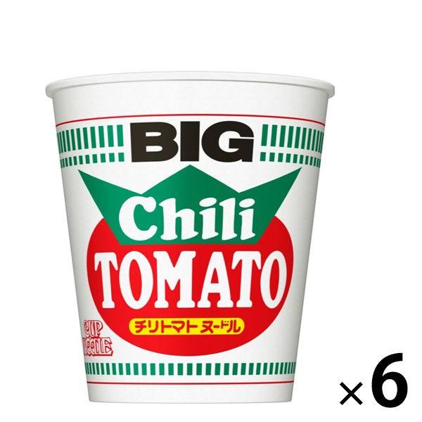 日清NISSIN 辣番茄風味拉麵BIG 6入裝 J664987