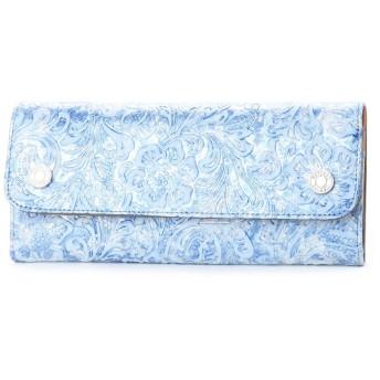 ナチュラルビューティー バッグアンドウォレット NATURAL BEAUTY BAG & WALLET フローラ (ブルー)