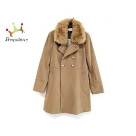 ラブレス LOVELESS コート サイズ36 S レディース 美品 ライトブラウン 冬物  値下げ 20191106