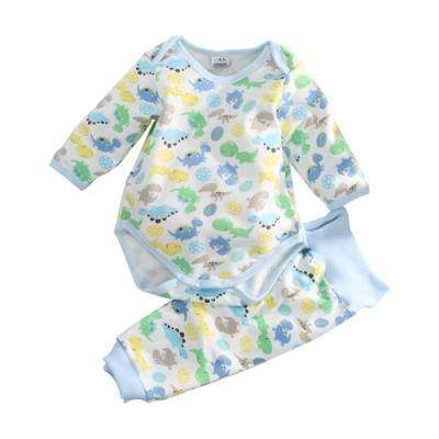 嬰兒刷毛包屁衣及護肚褲套裝 k61009 魔法Baby