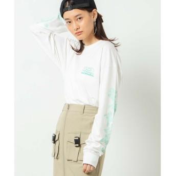 WEGO WEGO/PIKOコラボロンT(ホワイト)【返品不可商品】